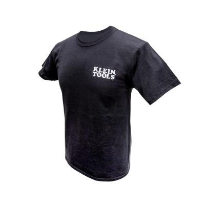 Men's Black Cotton Hanes Tagless Short Sleeved T-Shirt