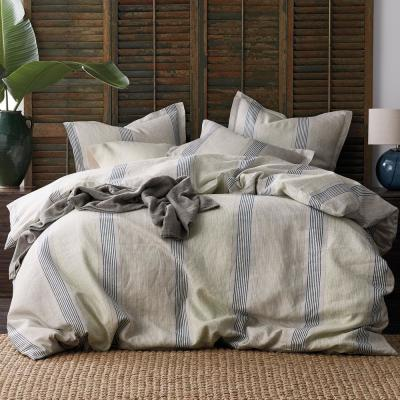 Grady Stripe Linen Duvet Cover