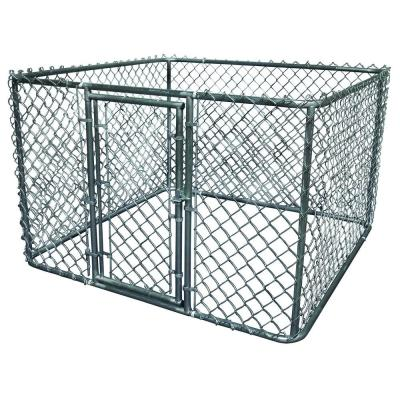 K-9 Kwik Dog Kennel 6 ft. x 6 ft. x 4 ft. Galvanized Steel Boxed Kennel Kit