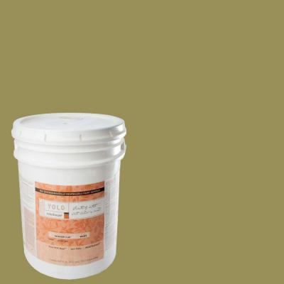 YOLO Colorhouse 5-gal. Leaf .05 Flat Interior Paint-DISCONTINUED