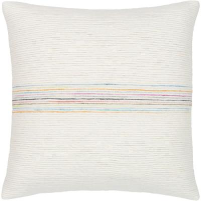 Ziad Striped Down Standard Throw Pillow