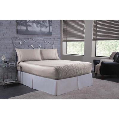 Bed Tite Solid 300-Thread Count Satin Sheet Set