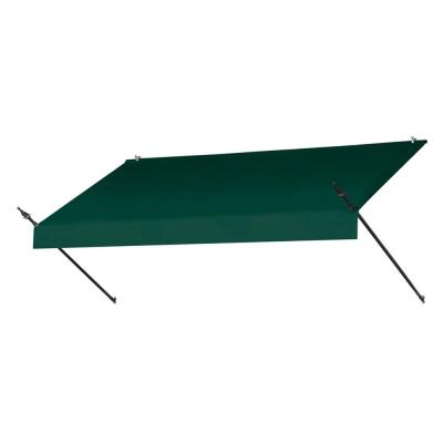 8 ft. Designer Manually Retractable Awning (36.5 in. Projection) in Forest