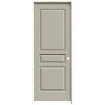 Jeld Wen Textured 3 Panel Painted Molded Single Prehung Interior Door Thdjw136400055 The Home