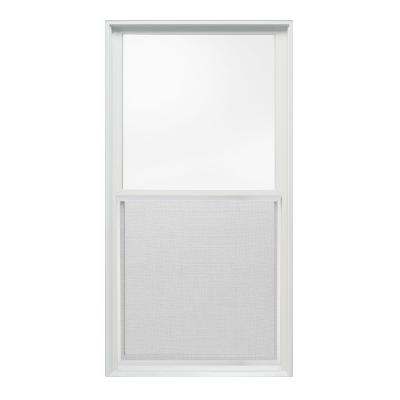 29.375 in. x 56 in. W-2500 Series Double Hung Wood Window - White Product Photo