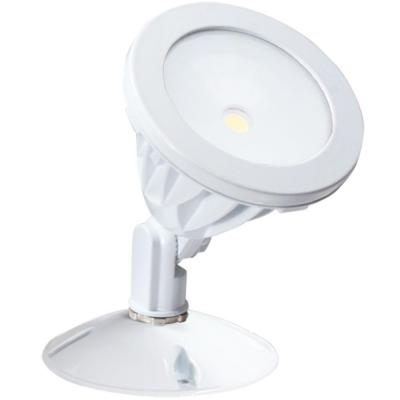 Irradiant White LED Outdoor Wall-Mount Flood Light