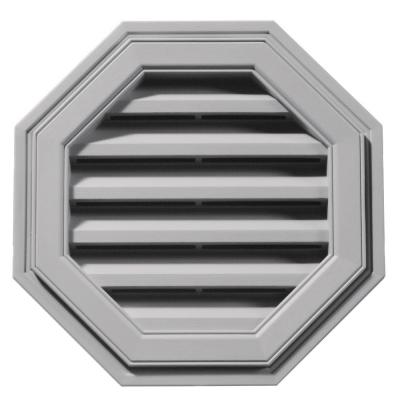 18 in. Octagon Gable Vent #016 Gray Product Photo