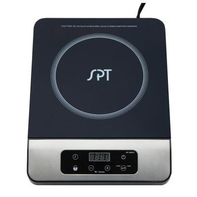 SPT 11 in. 1650 Watt Induction Cooktop in Stainless Steel with 13 Power Settings