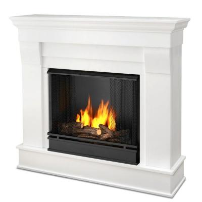 Real Flame Chateau 41 in Ventless Gel Fuel Fireplace in