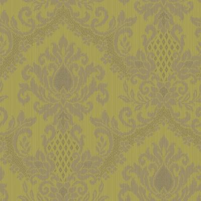 The Wallpaper Company 56 sq. ft. Bedazzled Yellow/Green Wallpaper-DISCONTINUED
