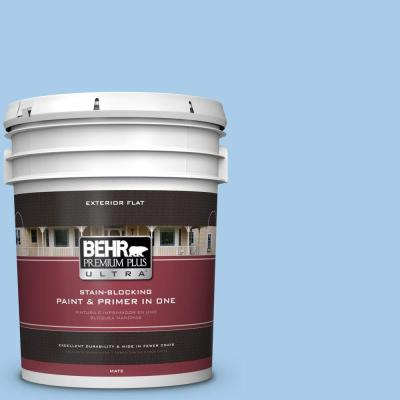 5-gal. #P520-2 French Porcelain Flat Exterior Paint