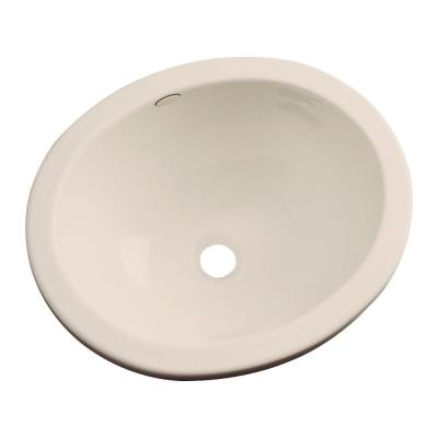 Caladesi Undermount Bathroom Sink in Candle-Lyte