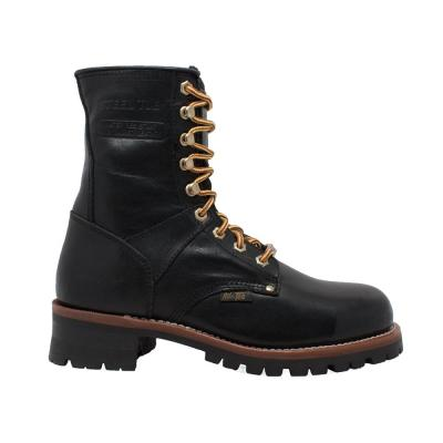 Men's Waterproof 9'' Logger Boot - Steel Toe