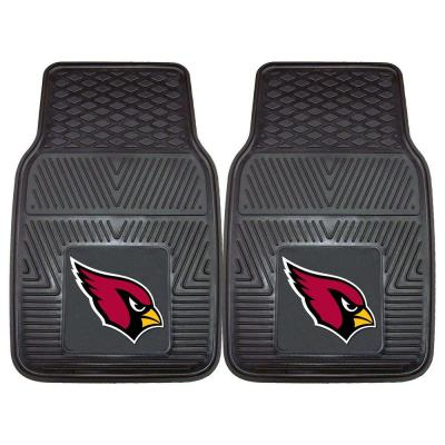 2-Piece FANMATS NFL Vinyl Car Mat Sets