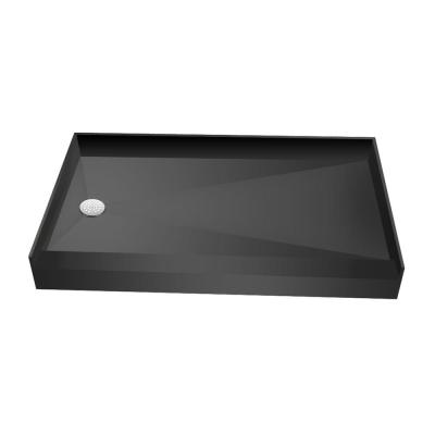 Tile Redi 34 in. x 60 in. Single Threshold Shower Base with Left Drain