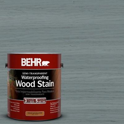 1-gal. #ST-125 Stonehedge Semi-Transparent Waterproofing Wood Stain