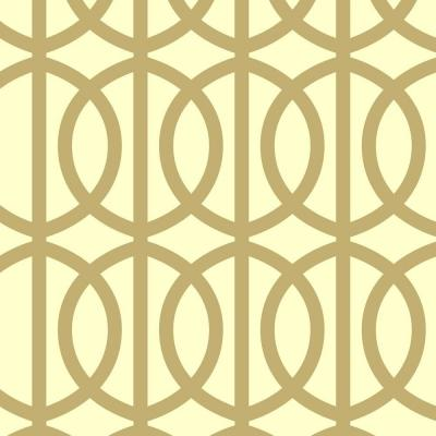 Trousdale Wall Painting Stencil - 19.5 in. x 19.5 in. Stencil