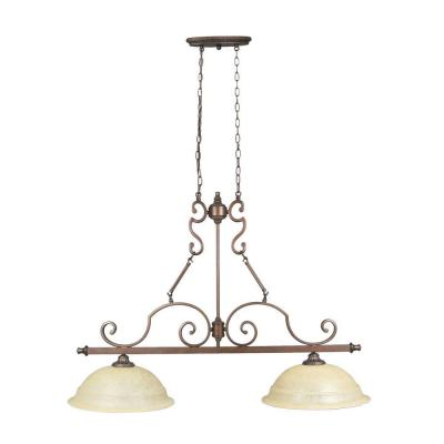 home depot pendant lights for kitchen home decorators collection fairview 2 light heritage 8411