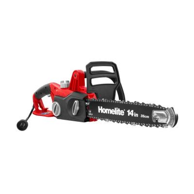 chain saw home depot homelite 14 in 9 electric chainsaw ut43103a the