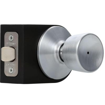 Bell Satin Chrome Bed and Bath Knob