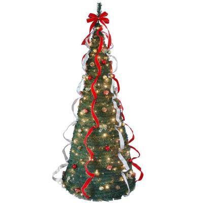 National Tree Company 7 ft. Pop-Up Artificial Christmas ...