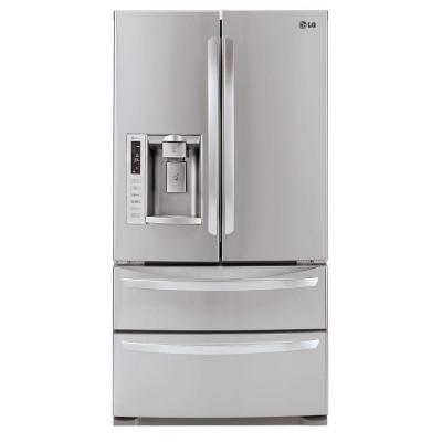 LG Electronics 27.5 cu. ft. French Door Refrigerator in Stainless Steel-DISCONTINUED