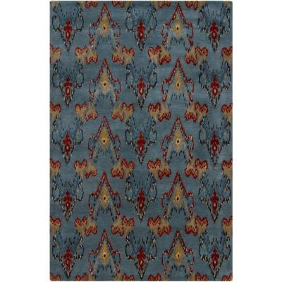 Rupec Blue/Red/Gold/Taupe 7 ft. 9 in. x 10 ft. 6 in.