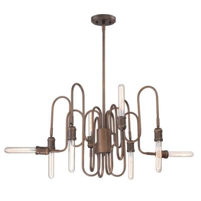 Briggs Collection 8-Light Oil Rubbed Bronze Chandelier
