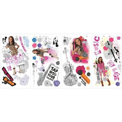 null 10 in. x 18 in. ANT Farm 33-Piece Peel and Stick Wall Decals