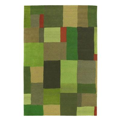 Kaleen Moods Foundation Avocado 8 ft. x 10 ft. Area Rug