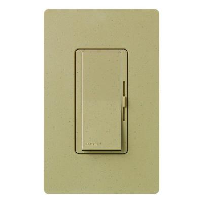 Diva 150-Watt Single-Pole/3-Way CFL-LED Dimmer - Mocha Stone