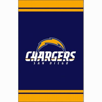 1 ft. x 1-1/2 ft. San Diego Chargers 2-Sided Fiber Optic