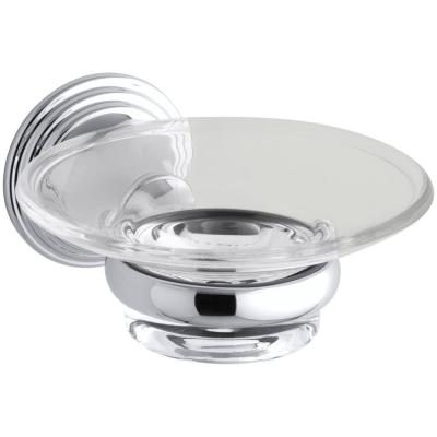 Devonshire Soap Dish in Polished Chrome