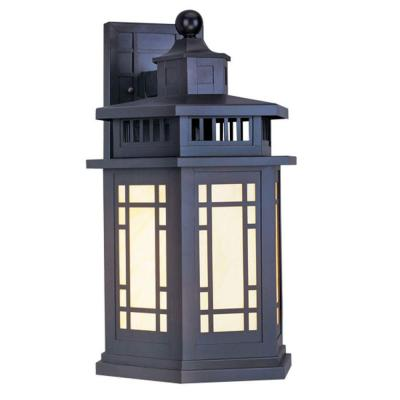 Providence Wall-Mount 1-Light Outdoor Bronze Incandescent Lantern Product Photo
