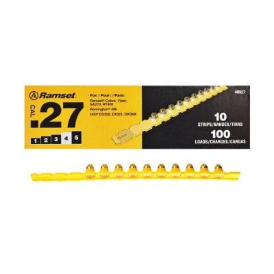 Ramset 0.27 Caliber Yellow Strip Loads (100-Count)