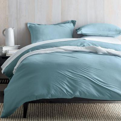 Organic Cotton Jersey Knit Duvet Cover