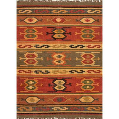 Marana Cardinal 4 ft. x 6 ft. Tribal Area Rug