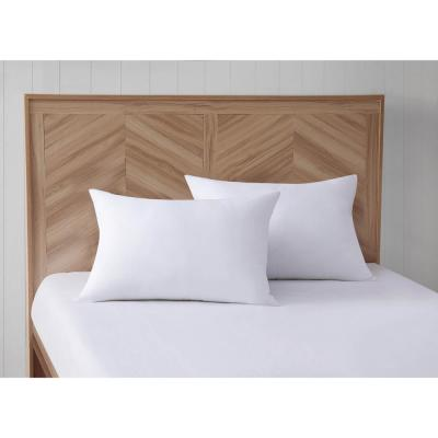 Antimicrobial Down Alternative Pillow Pair with ZippePillow Protector