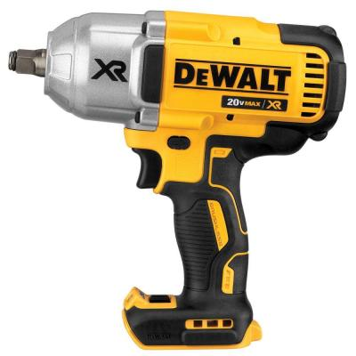 DEWALT 20-Volt Max XR Lithium-Ion 1/2 in. Cordless Impact Wrench Kit with Hog Ring Anvil (Tool-Only)