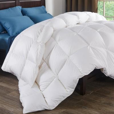 800 Fill Power 700 Thread Count Extra Warmth White Down Comforter