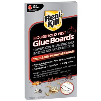 Real-Kill Household Pest Glue Boards (4-Count)