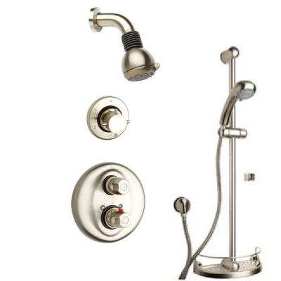 LaToscana Water Harmony Shower Combination 3 in Brushed Nickel
