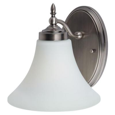 Montreal 1-Light Antique Brushed Nickel Sconce