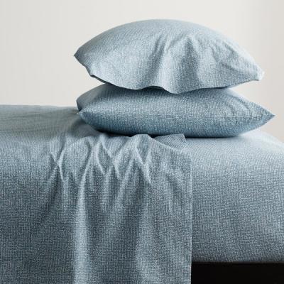 Lofthome Maze 200-Thread Count Organic Cotton Percale Sheet Set