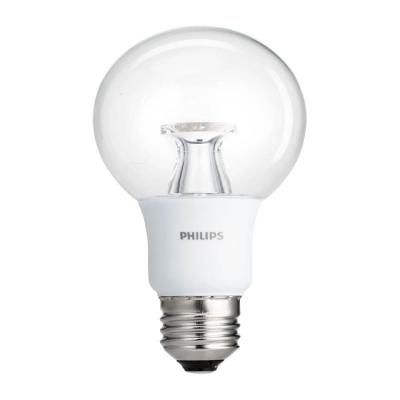 40W Equivalent Soft White Clear G25 Dimmable LED with Warm Glow