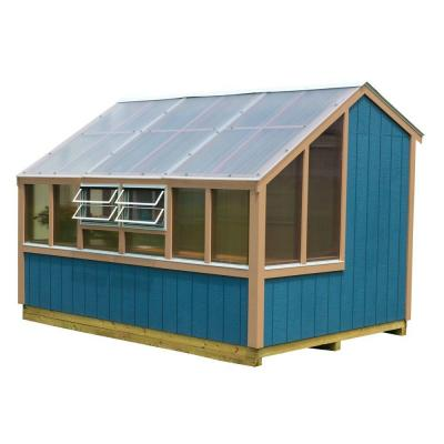 Best Barns Clairmont 8 ft. x 12 ft. Grow-N-Stow Greenhouse Kit with Floor