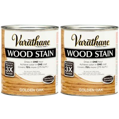 Varathane 1 Qt. Golden Oak Wood Stain (2-Pack)-DISCONTINUED