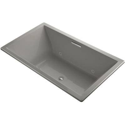 Underscore 6 ft. Air Bath Tub in Cashmere Product Photo