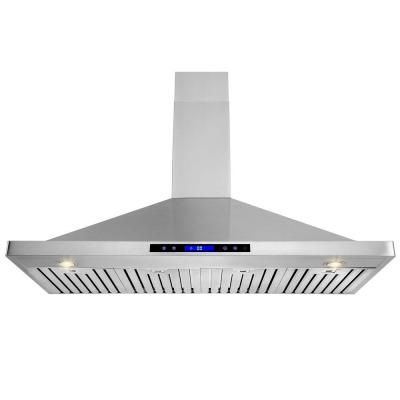 48 in. Wall Mount Convertible Kitchen Range Hood in Stainless Steel