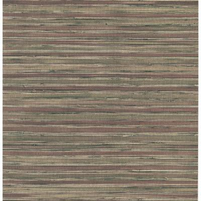 Brewster 56 sq. ft. Faux Grasscloth Wallpaper